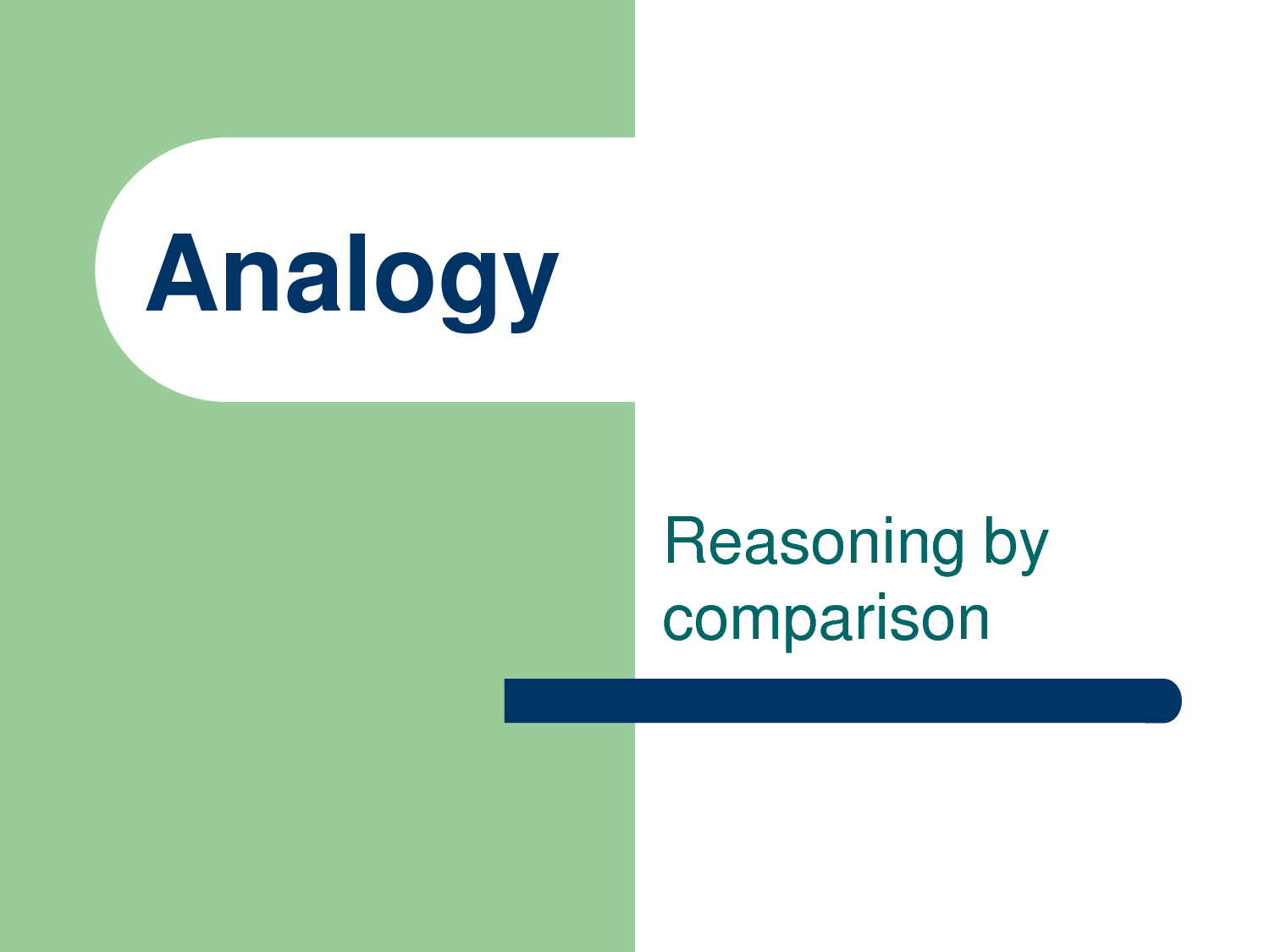 Analogies Tool Discover Your Solutions Llc