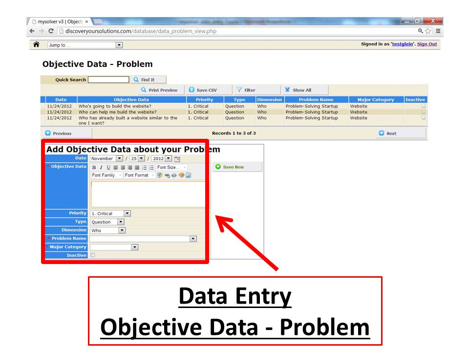 Analyze the Objective Data about your Problem - Discover ...